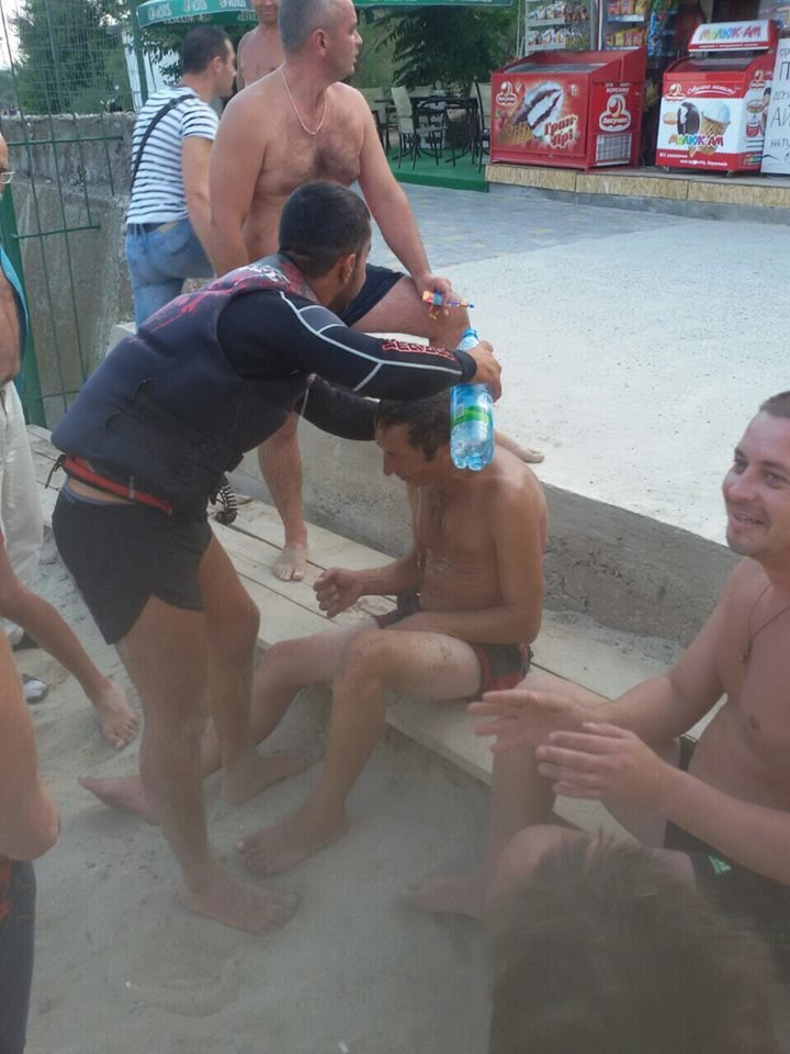 На одесском пляже спасли пьяного ныряльщика (ФОТО), фото-2
