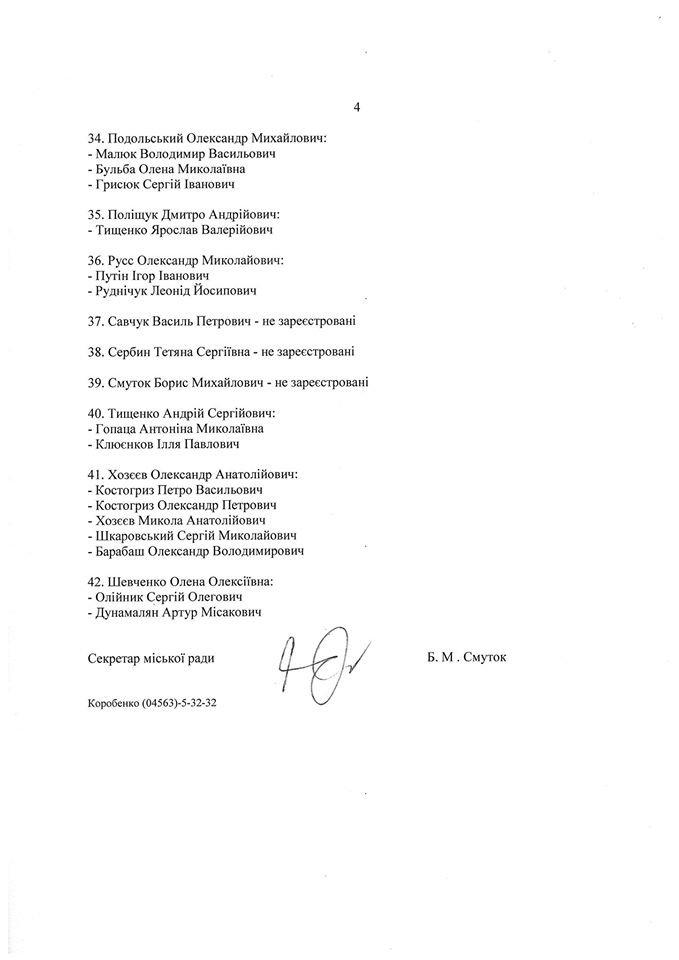 Документ: білоцерківському депутату допомагає Путін, фото-4