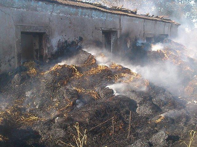 Неосторожное обращение с огнем привело к пожару на Николаевщине (ФОТО), фото-2