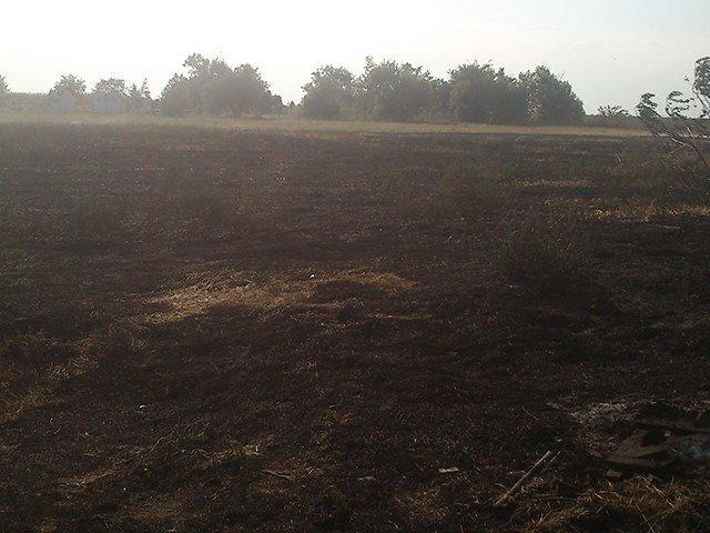 Неосторожное обращение с огнем привело к пожару на Николаевщине (ФОТО), фото-1