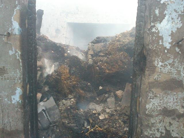 Неосторожное обращение с огнем привело к пожару на Николаевщине (ФОТО), фото-4