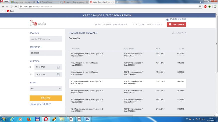 """Общественная организация """"Дия"""" вскрыла факты коррупции в Мариупольском управлении здравоохранения, фото-1"""