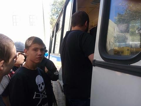 Полиция одесских гомофобов в полном составе вывезла в райотдел (ФОТО), фото-6