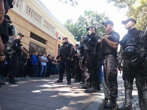 Полиция одесских гомофобов в полном составе вывезла в райотдел (ФОТО), фото-3