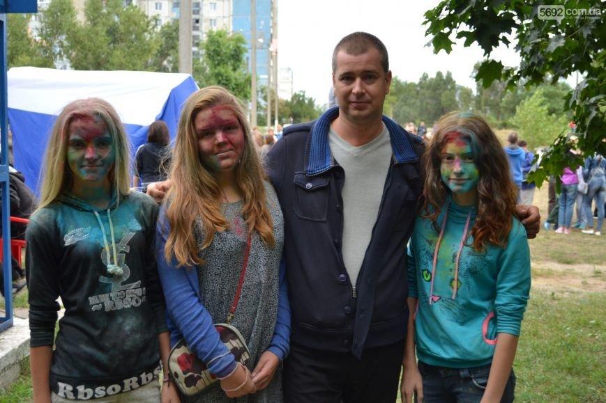 На Левобережье Каменского прошел фестиваль красок, фото-8