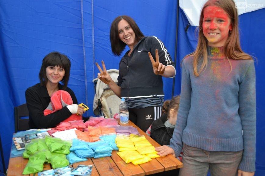 На Левобережье Каменского прошел фестиваль красок, фото-11