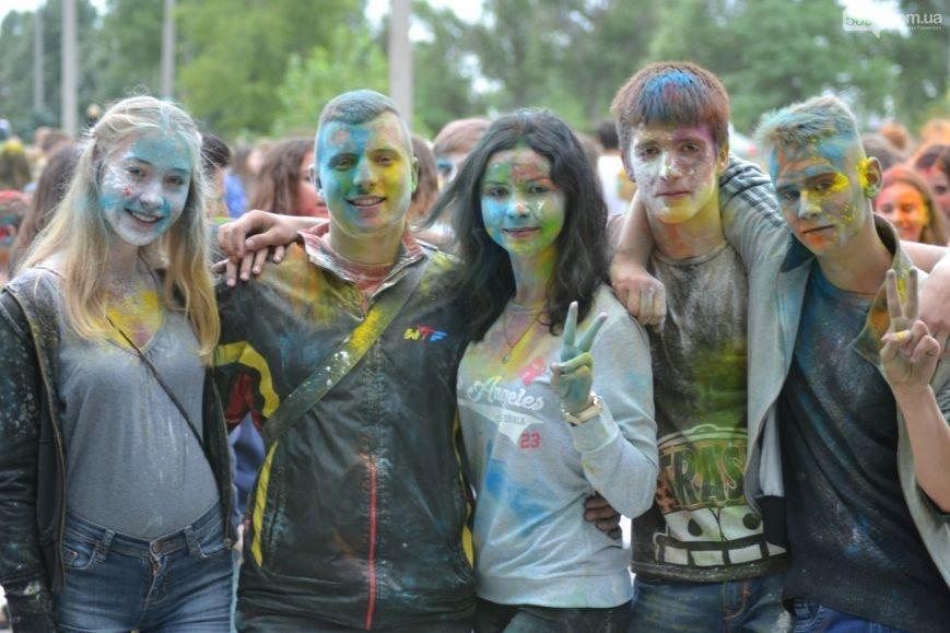 На Левобережье Каменского прошел фестиваль красок, фото-5
