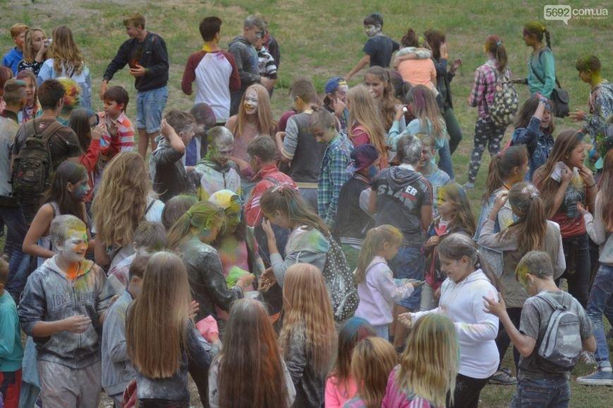На Левобережье Каменского прошел фестиваль красок, фото-1