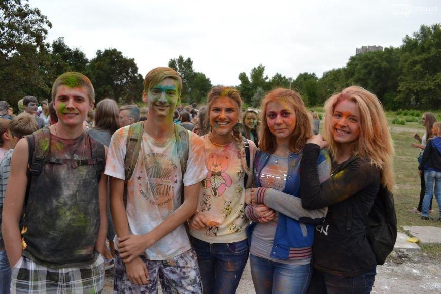 На Левобережье Каменского прошел фестиваль красок, фото-10