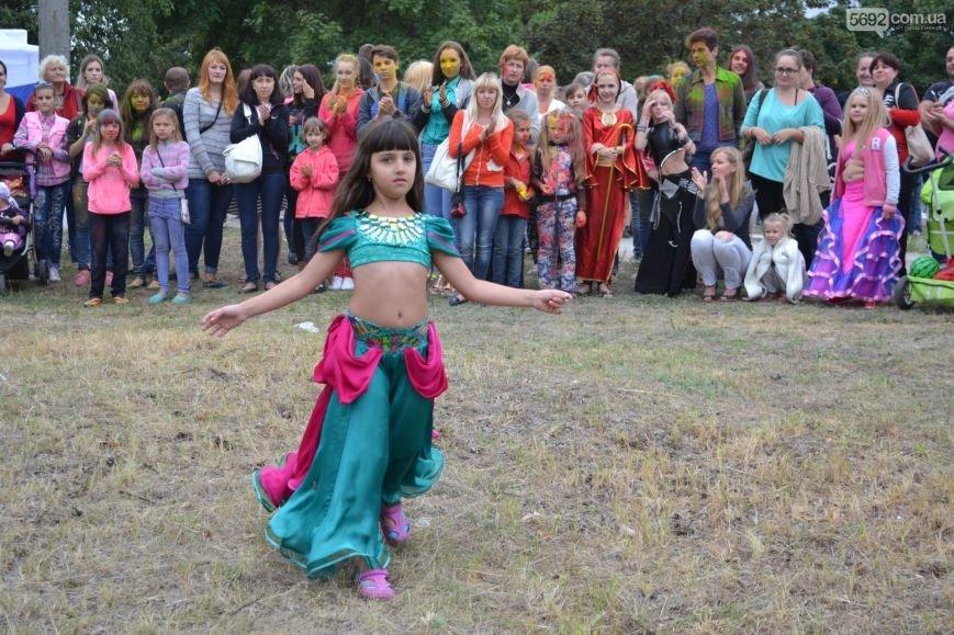 На Левобережье Каменского прошел фестиваль красок, фото-7