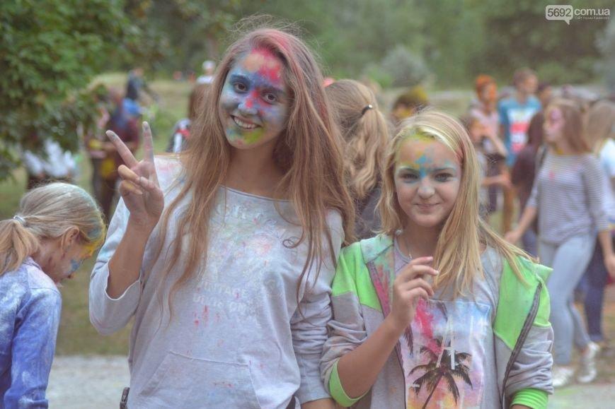 На Левобережье Каменского прошел фестиваль красок, фото-2