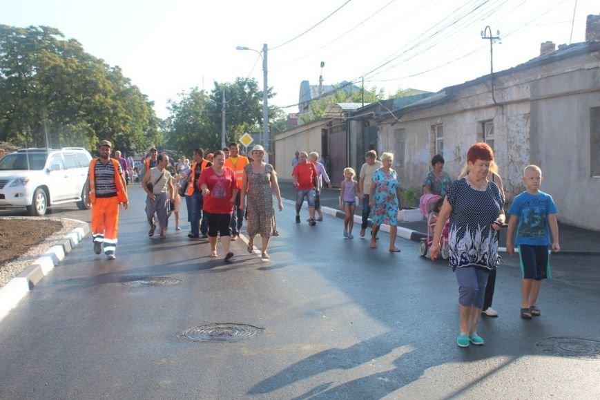 В Симферополе праздником завершился капитальный ремонт участка ул. Футболистов (ФОТО), фото-4