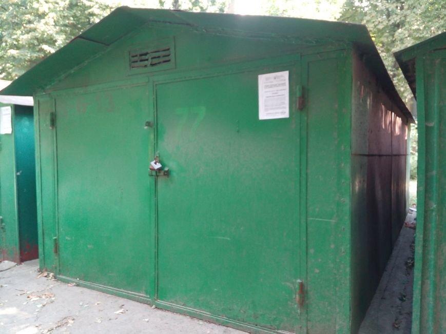 Одесский ЖЭК призывает владельцев зеленых гаражей покрасить гаражи в зеленый цвет (ФОТО), фото-2
