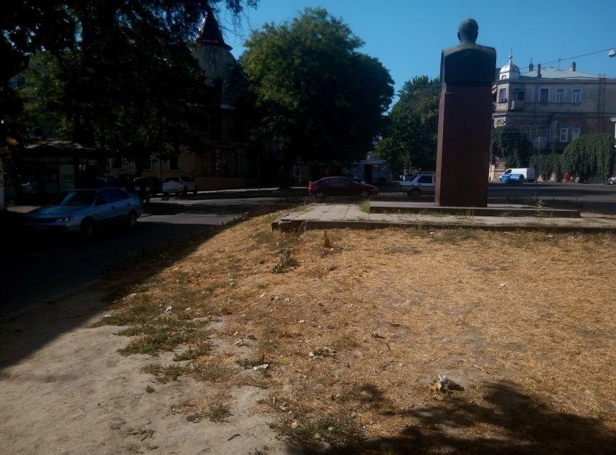 В центре Одессы вандалы поломали памятник Малиновскому (ФОТО), фото-5