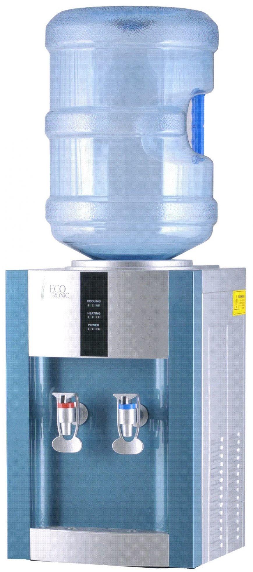 Напольный кулер для воды с охлаждением и нагревом