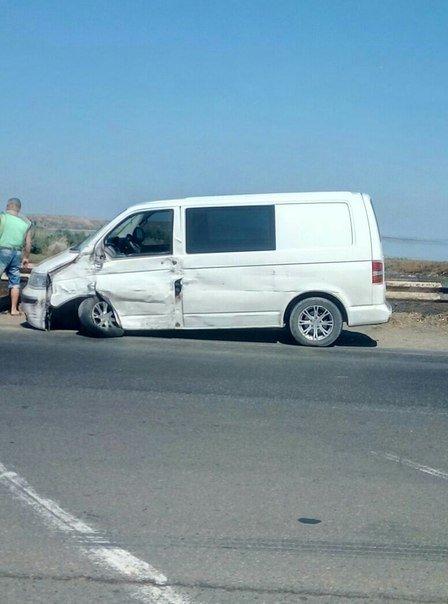 В Одессе у микроавтобуса оторвало колесо (ФОТО), фото-1