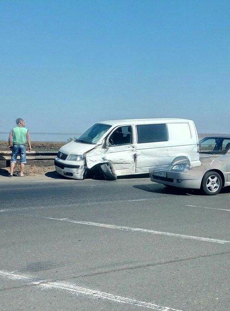 В Одессе у микроавтобуса оторвало колесо (ФОТО), фото-2