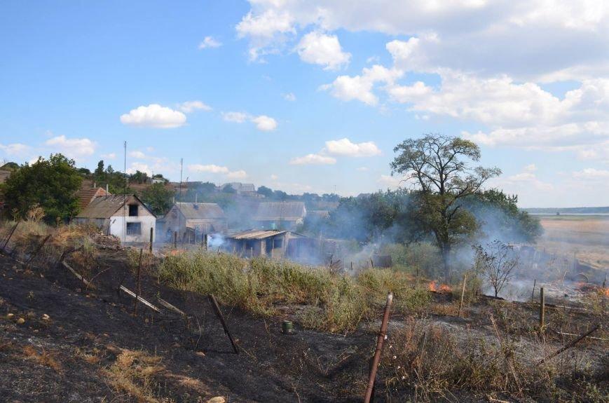 Четыре жилых дома повреждено огнём в Николаеве (ФОТО), фото-2