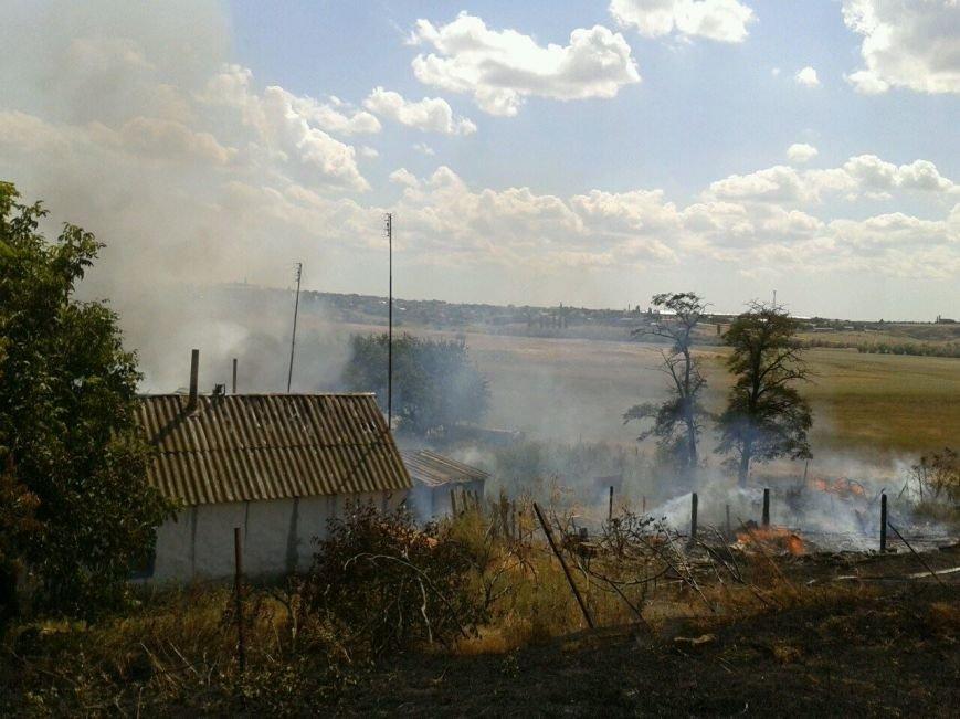 Четыре жилых дома повреждено огнём в Николаеве (ФОТО), фото-1