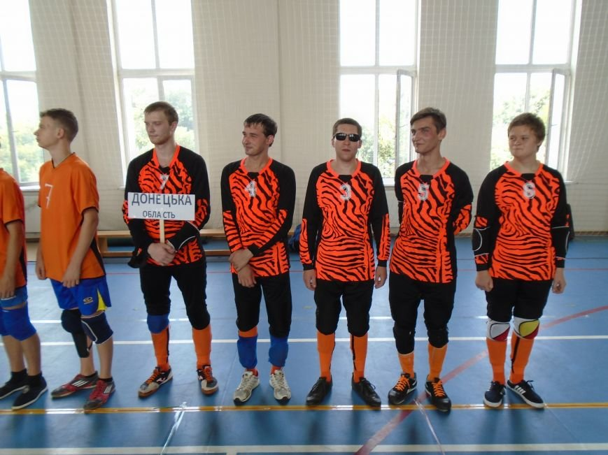 В Бахмуте впервые прошел открытый Кубок Донбасса по голболу, фото-1