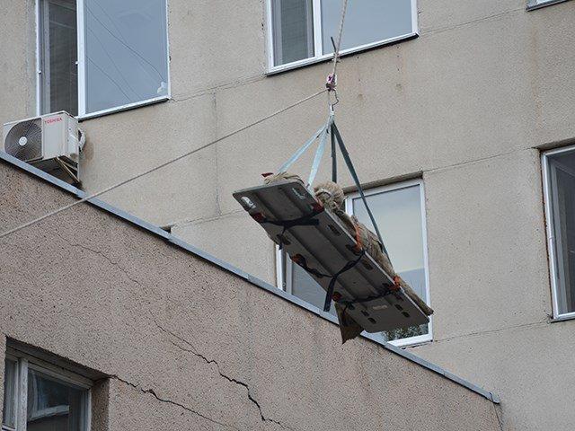 В Николаеве спасатели ликвидировали «пожар» в детской больнице (ФОТО), фото-3