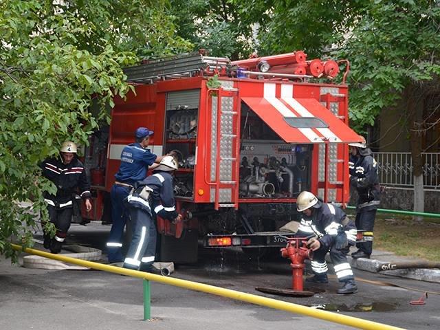 В Николаеве спасатели ликвидировали «пожар» в детской больнице (ФОТО), фото-6