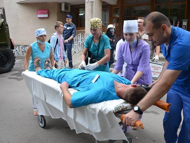 В Николаеве спасатели ликвидировали «пожар» в детской больнице (ФОТО), фото-5