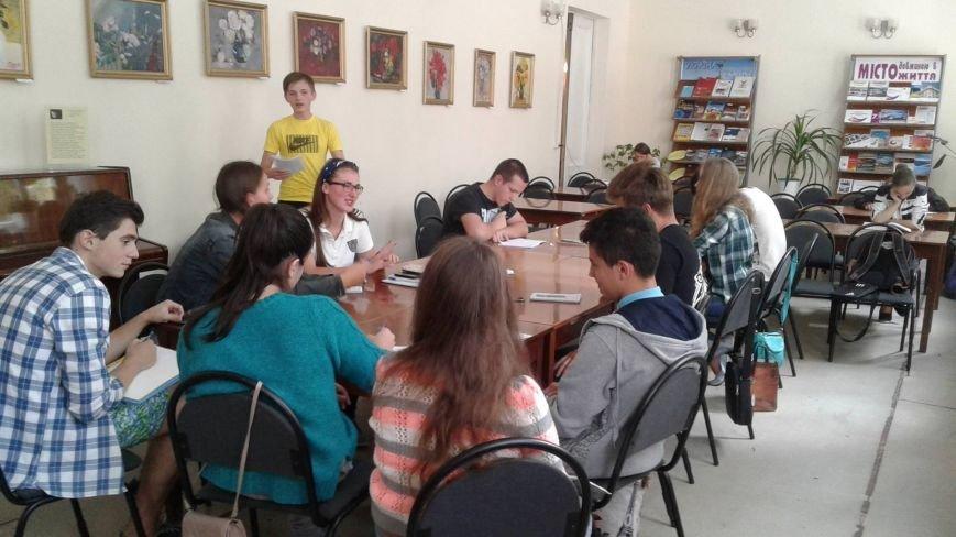В Центральной библиотеке Кривого Рога открылся клуб для любителей дебатировать (ФОТО), фото-2