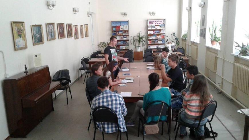 В Центральной библиотеке Кривого Рога открылся клуб для любителей дебатировать (ФОТО), фото-3
