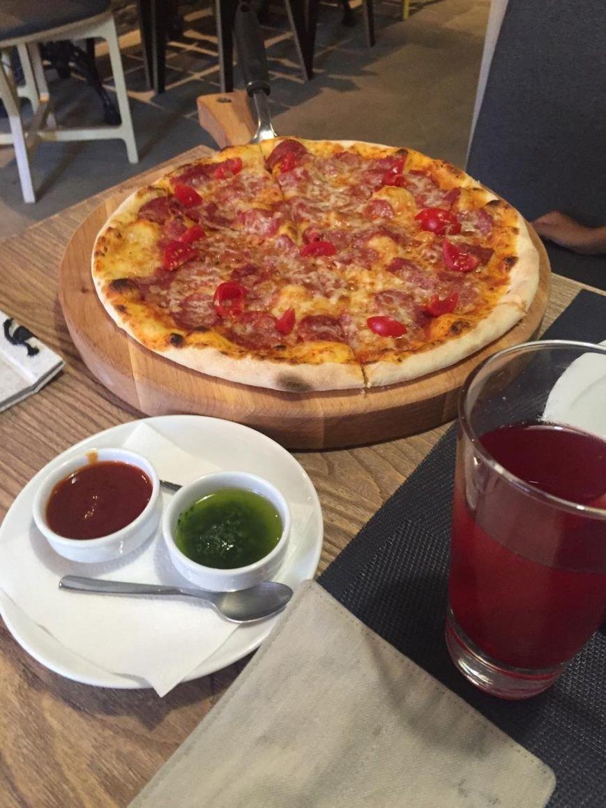 пицца и гриль