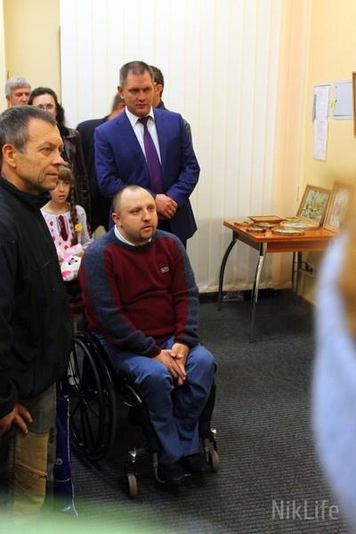 У Білій Церкві відкрилась виставка картин спортсмена-інваліда (фото), фото-2