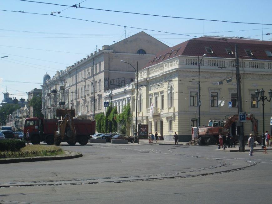 Неожиданно: Обещанная реконструкция Тираспольской площади обернулась полным коллапсом (ФОТО), фото-10