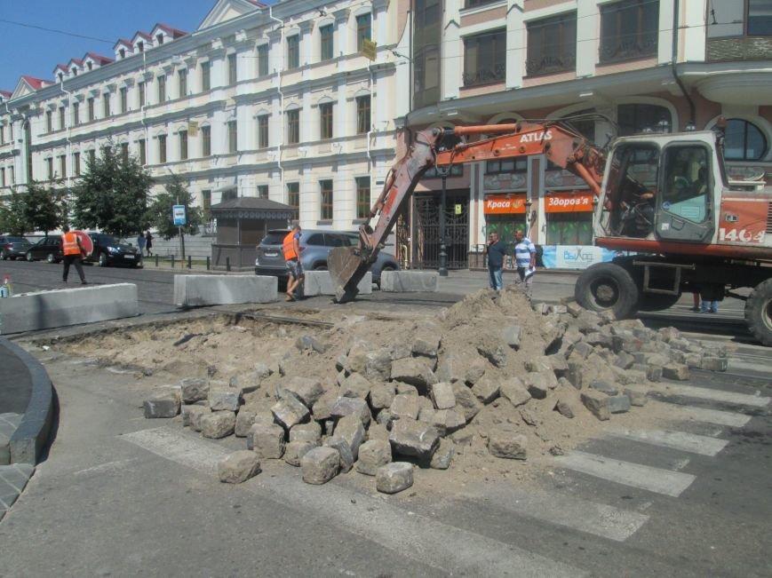 Неожиданно: Обещанная реконструкция Тираспольской площади обернулась полным коллапсом (ФОТО), фото-7