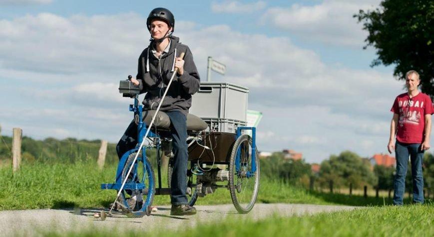В Германии создали велосипед для слепых, фото-1