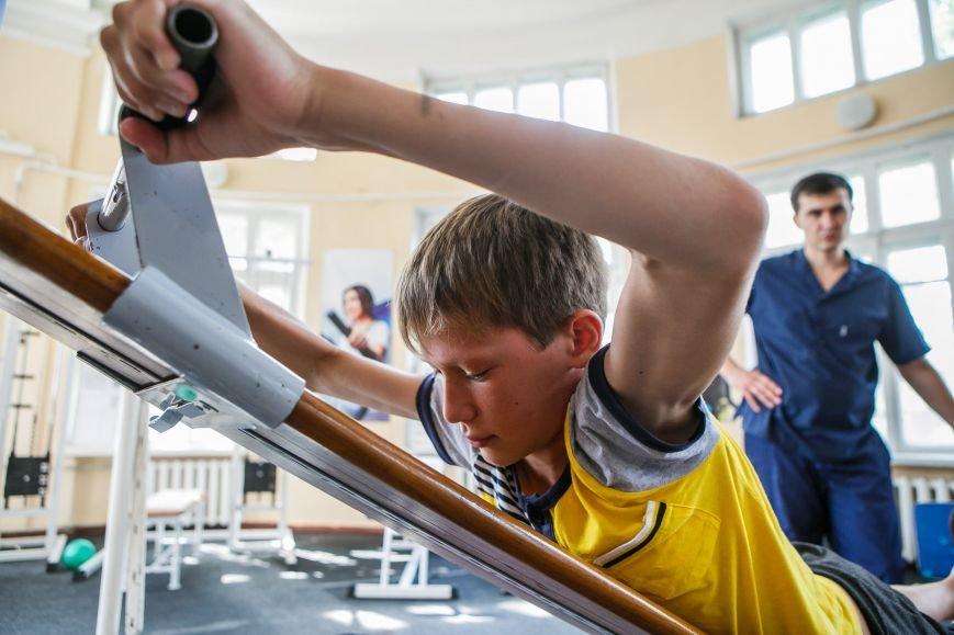 Раненые дети из Донбасса проходят курс реабилитации в Славянске, фото-4