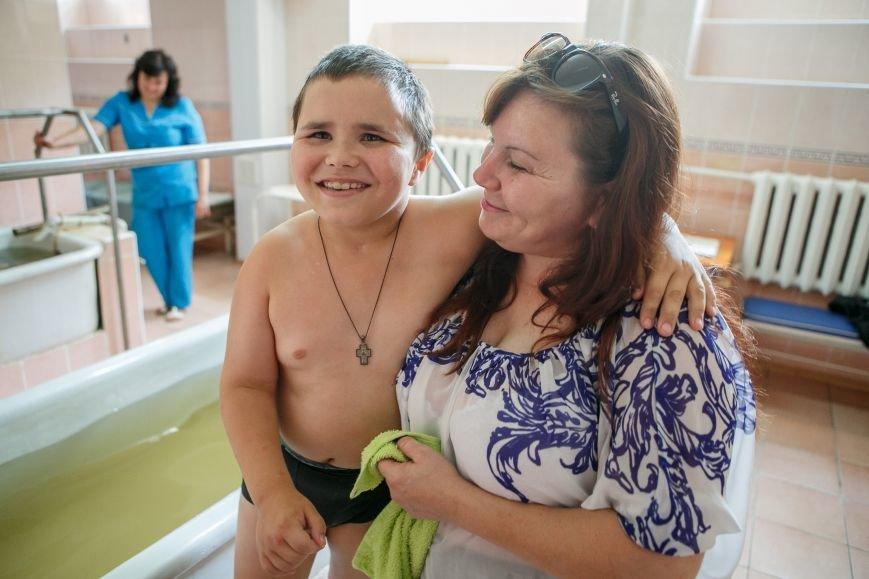 Раненые дети из Донбасса проходят курс реабилитации в Славянске, фото-1