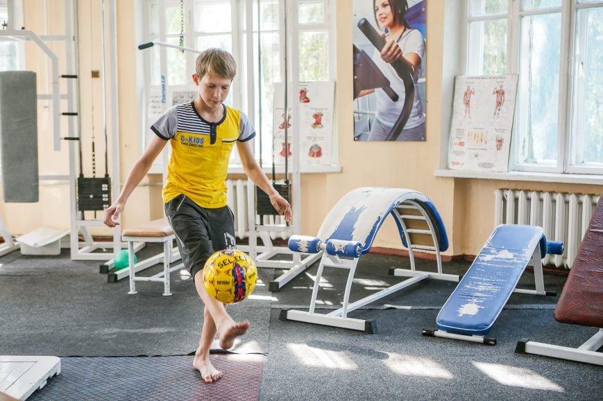 Раненые дети из Донбасса проходят курс реабилитации в Славянске, фото-6