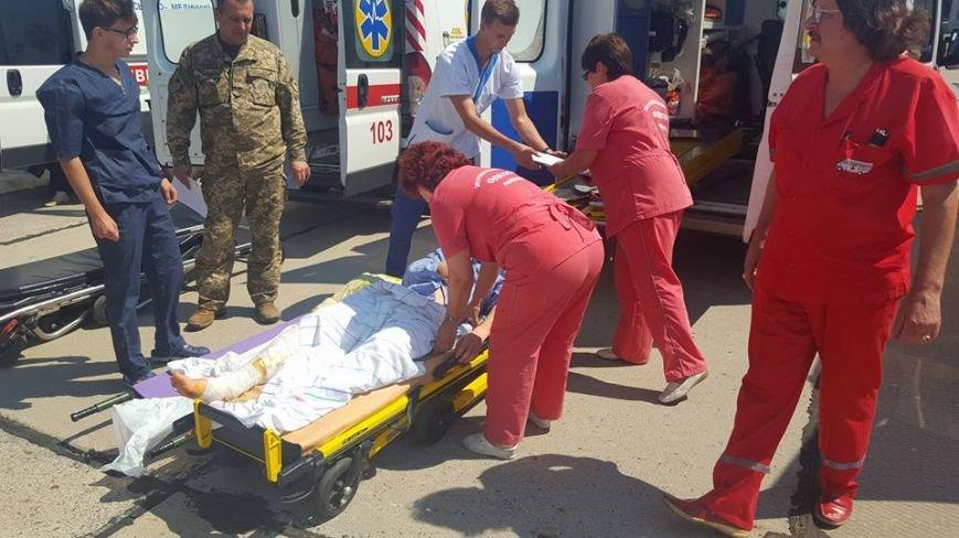 В Одессу доставили борт с ранеными атошниками (ФОТО), фото-1