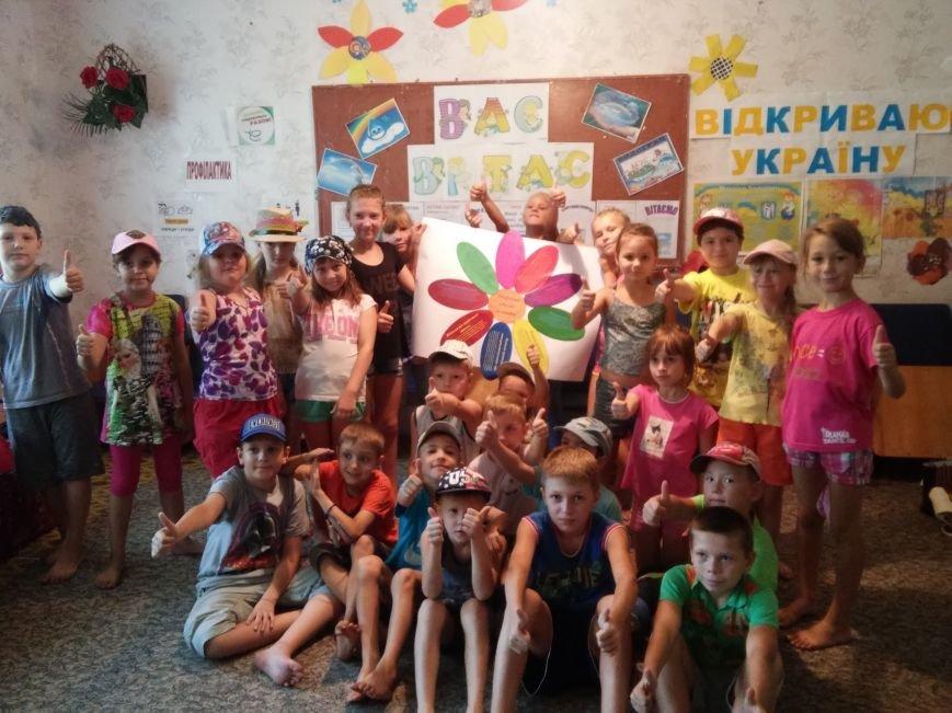 В лагере «Вогник» дети с радостью принимали участие в тренингах о здоровом образе жизни, фото-4