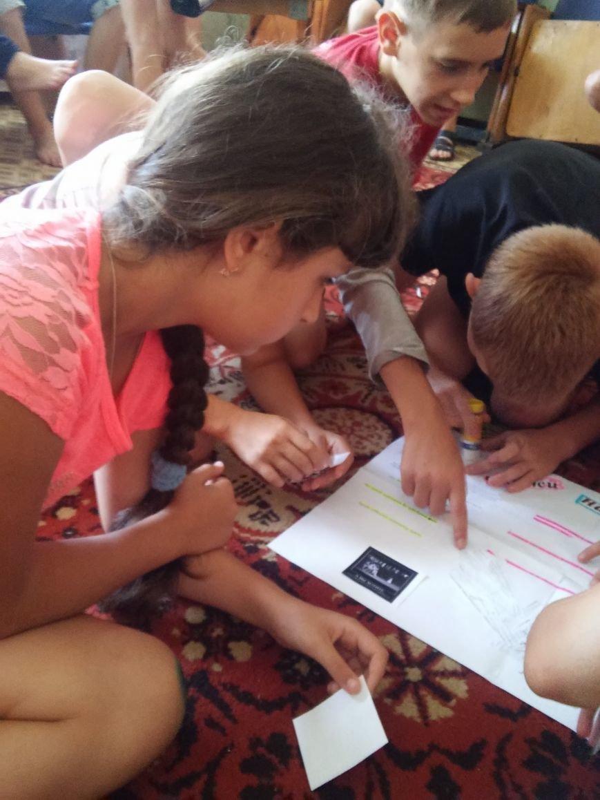В лагере «Вогник» дети с радостью принимали участие в тренингах о здоровом образе жизни, фото-2
