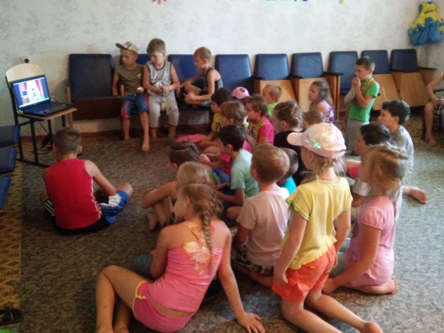В лагере «Вогник» дети с радостью принимали участие в тренингах о здоровом образе жизни, фото-3