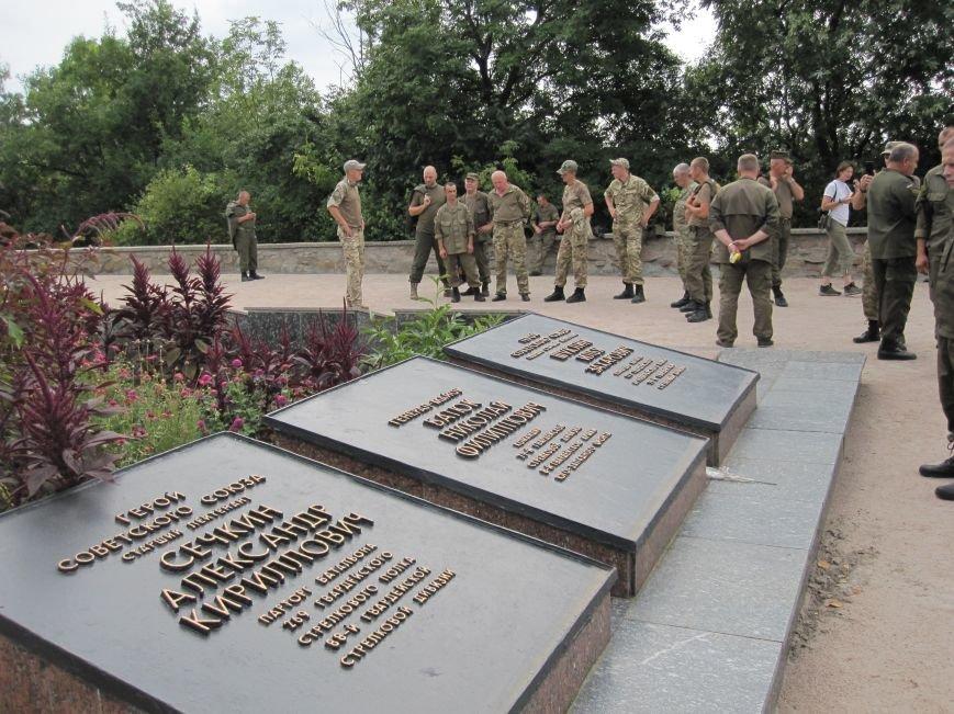 Нацгвардейцы Славянска отныне будут проводить культурный досуг в Святогорске, фото-6