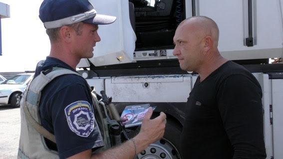 Под Мариуполем полицейские убеждали водителей не нарушать ПДД, фото-1