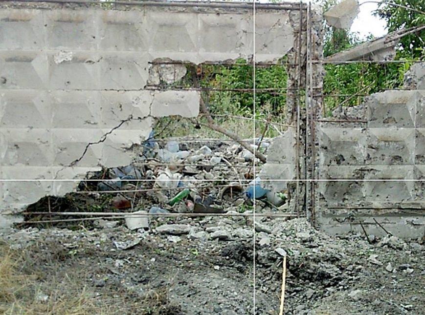 Пятиэтажку в Марьинке проверили на прочность артиллерийскими снарядами (ФОТО), фото-2