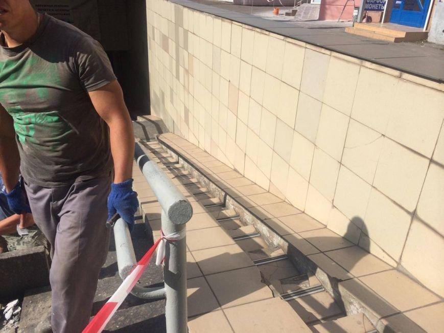 В Мариуполе арендатор решил отремонтировать подземный переход (ФОТО, ВИДЕО), фото-1