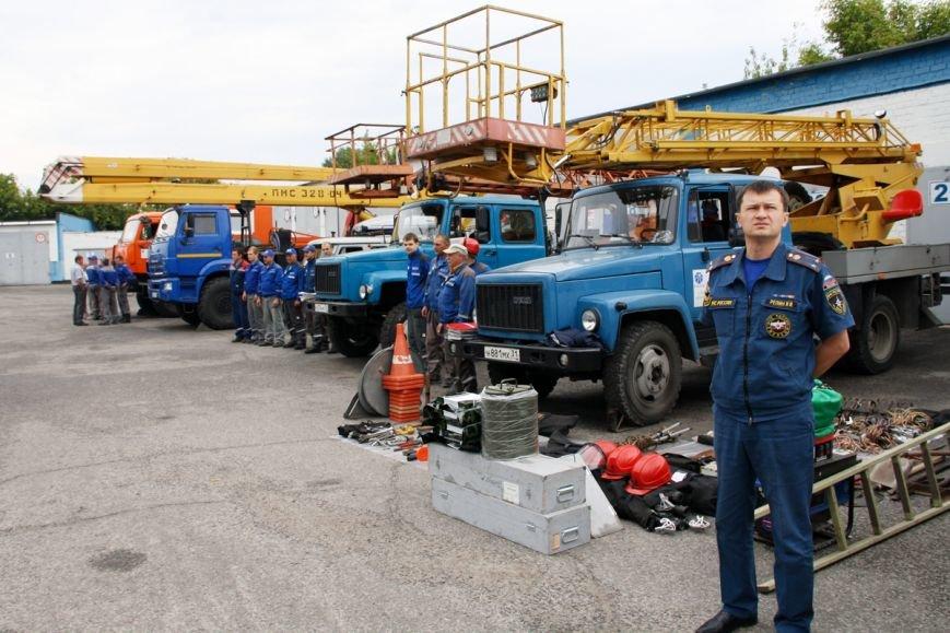 Белгородские энергетики ликвидировали условное нарушение электроснабжения, фото-2