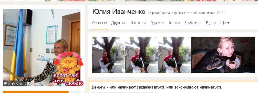 Юлия Иванченко однокл - 2 гимназия