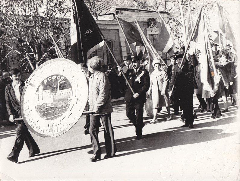 Савченко И.С. на параде