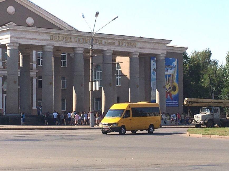 Постамент, где стоял  памятник основателю Донецко-Криворожской республики, готовят ко Дню Независимости (ФОТО), фото-14