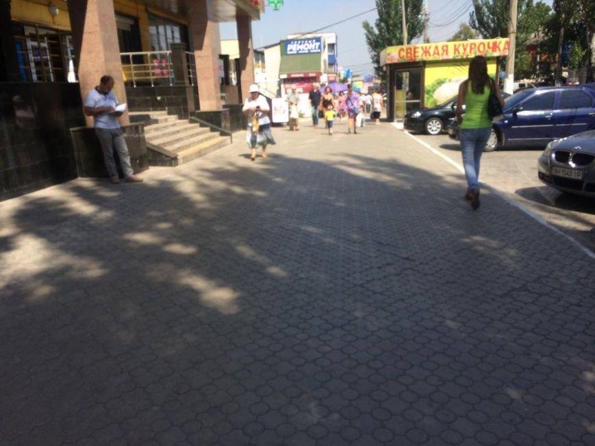 Разгонять стихийных торговцев в Мариуполе попросят казаков (ФОТО, ВИДЕО), фото-4